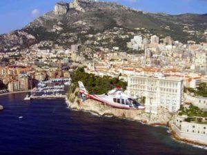 Аренда вертолета в Монако