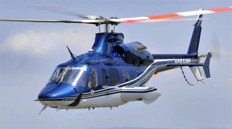 Полет на частном вертолет над Францией