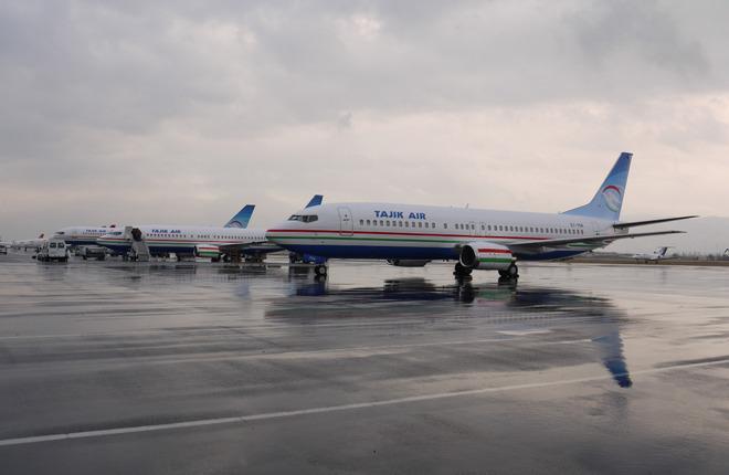 Авиаперевозчик «Tajik Air» увеличил пассажиропоток на 4.2%