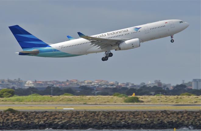 Авиаперевозчик «Garuda Indonesia» готовится к полетам в РФ