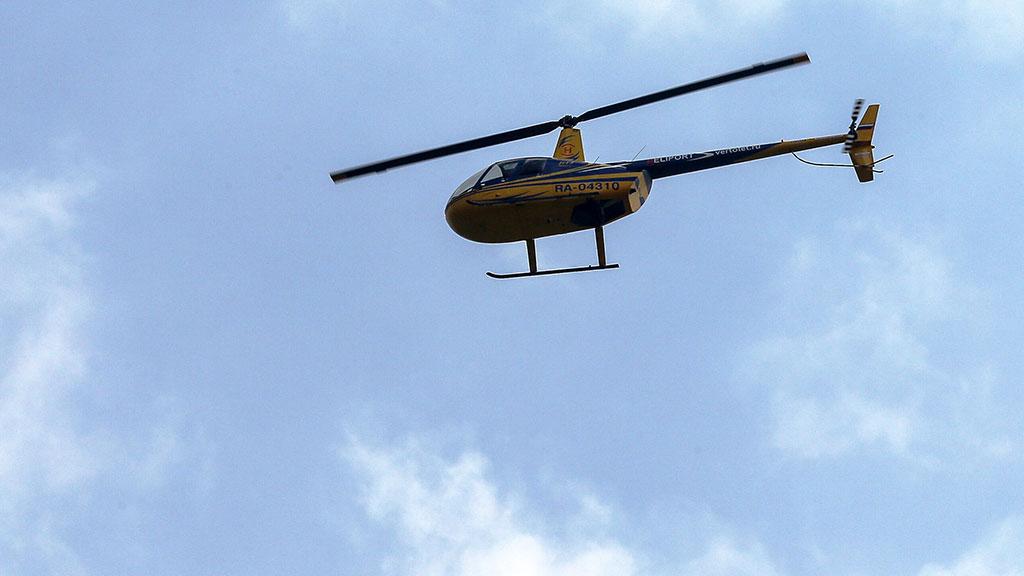В Башкирии разбился вертолет Robinson