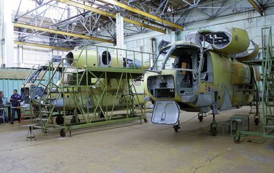 На Дальнем Востоке сборкой вертолетов займутся роботы