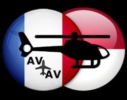 Деловая авиация вертолет Ницца-Монако